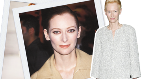 #ThrowbackThursday: You'll Never Guess What Tilda Swinton Looked Like 13 Years Ago   StyleCaster