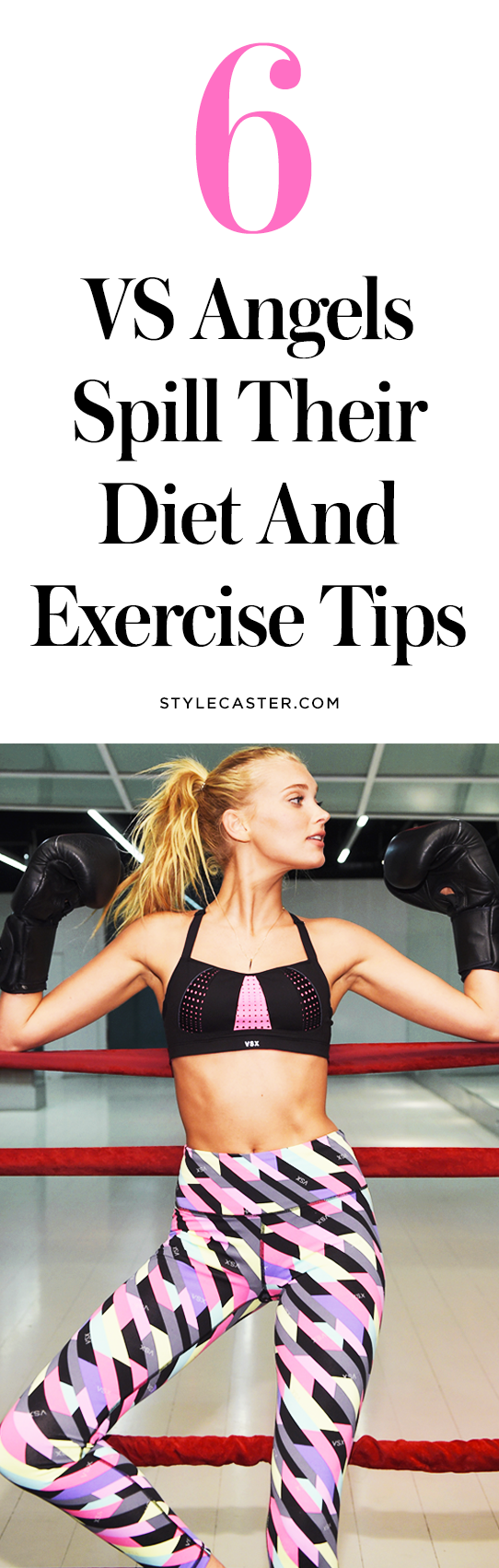 Diet and exercise tips from Victoria's Secret models | @stylecaster