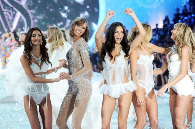 Victoria's Secret Fashion Show Finale models 2013