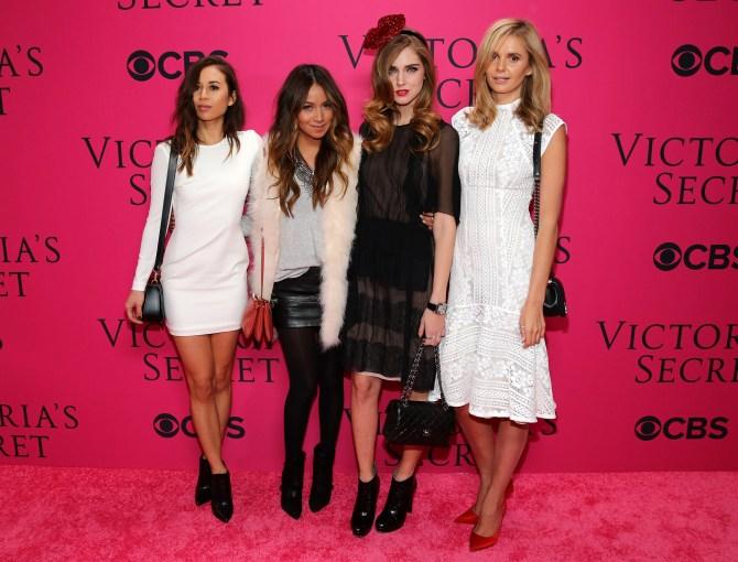Victoria's Secret pink carpet