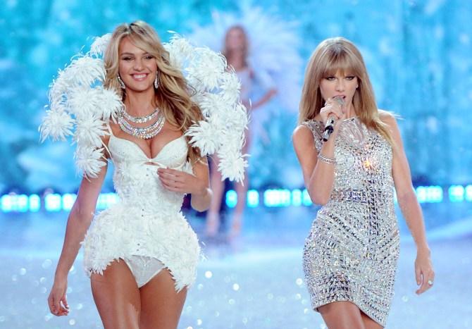 Victoria's Secret Snow Angels