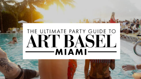 The Ultimate Party Guide To Art Basel Miami 2013 | StyleCaster
