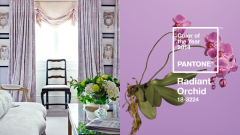 Radiant Orchid Interiors Inspired by Pantone's 2014 Color of the Year | StyleCaster