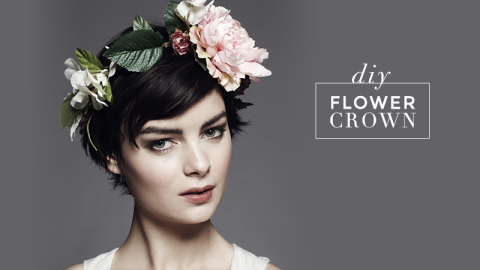 How to Make a Flower Crown in 4 Steps | StyleCaster