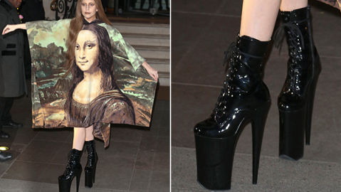 The Big Secret Behind Lady Gaga's Wildest Shoes | StyleCaster