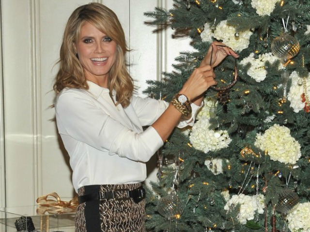 heidi klum christmas qvc 08 Heidi Klum Dishes on Her Other Favorite Holiday