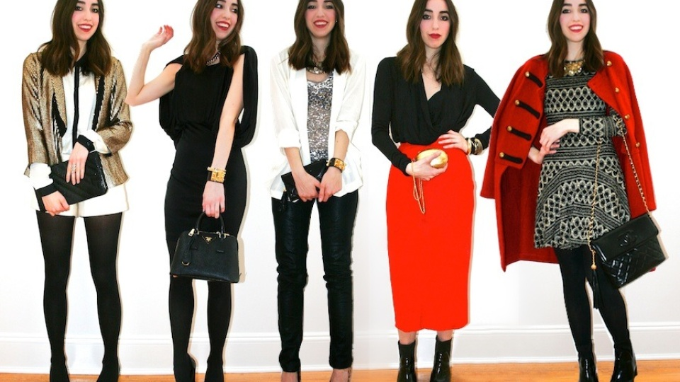 5 Holiday Looks for 5 Parties   StyleCaster