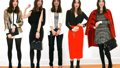 5 Holiday Looks for 5 Parties | StyleCaster
