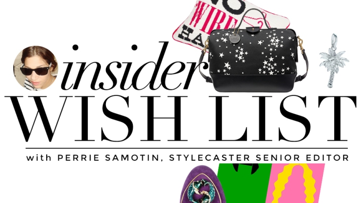 Insider Holiday Wish List: StyleCaster's Perrie Samotin