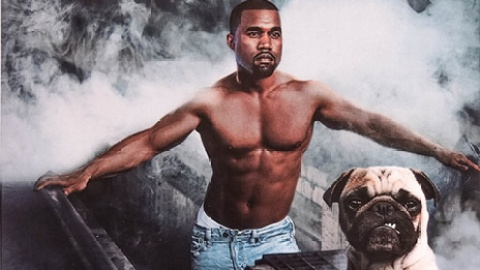You Need This Kanye West Pug Calendar   StyleCaster