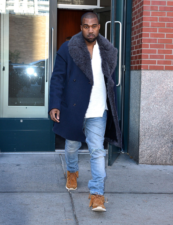 Celebrity Sightings In New York City - November 20, 2013