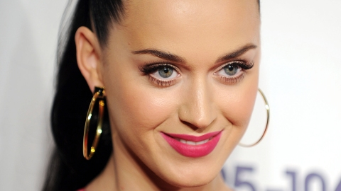 Katy Perry Does Her Best Liz Hurley | StyleCaster