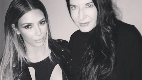 The End is Nigh: Why Is Kim Kardashian Hanging Out with Marina Abramovic? | StyleCaster