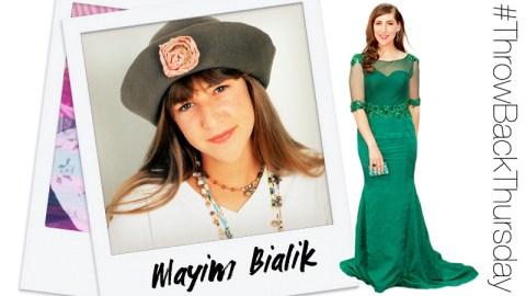 #TBT: Mayim Bialik | StyleCaster