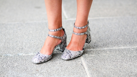 13 Pairs of Metallic Heels—and How to Wear Them Day and Night   StyleCaster