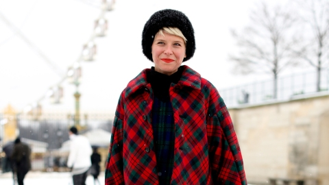 How to Mix Plaids Like a Boss | StyleCaster