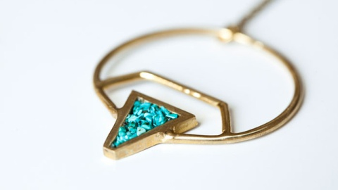 Gift We Love: A Cool Turquoise Necklace | StyleCaster