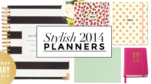 15 Chic Planners for 2014 | StyleCaster
