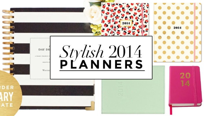 New Year, New Agenda: 15 Stylish Planners To Organize Your 2014