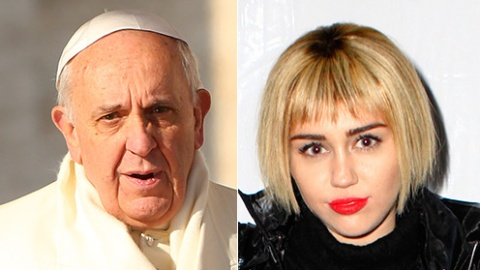 The Pope Beat Out Miley  | StyleCaster