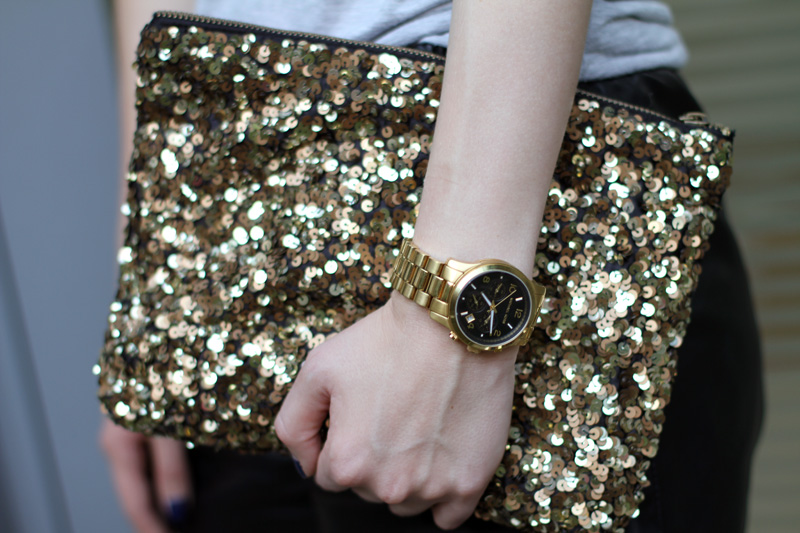 sequin clutch1 5 Small Ways To Be Both Understated and Festive on New Years Eve