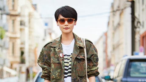 5 Chic Ways to Pull Off the Military Trend This Season From Pinterest | StyleCaster