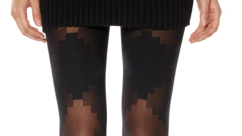 15 Rad Pairs of Patterned Tights  | StyleCaster
