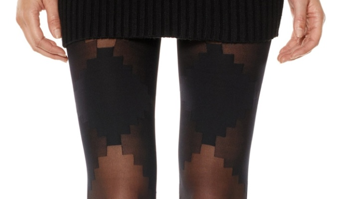 15 Pairs Of Patterned Tights To Shake Up Winter Dresses and Skirts