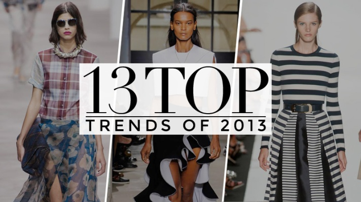 The Year in Fashion: 13 Major Trends From 2013