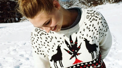 These Christmas Sweaters Are Anything But Ugly | StyleCaster