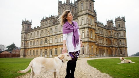 Inside Highclere Castle: The Real Life Downton Abbey | StyleCaster