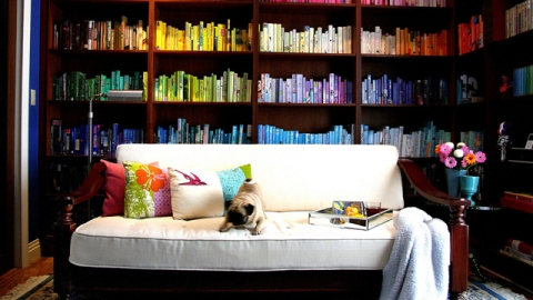 25 Ideas For Organizing and Storing Books | StyleCaster