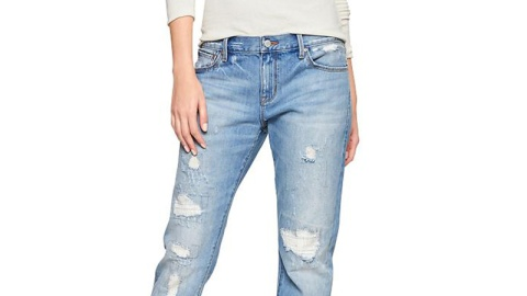 Found: The Perfect Boyfriend Jeans | StyleCaster