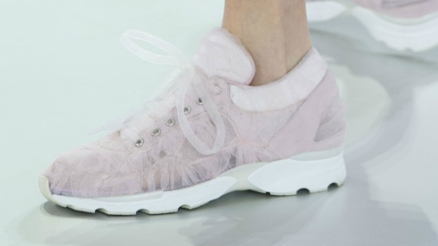 Chanel Couture Sneakers: Keep Dreaming | StyleCaster