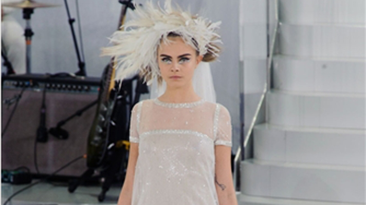 Sequins, Knee Pads, and Sneakers: All The Looks From Chanel's Haute Couture Collection