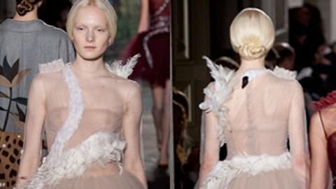 Valentino Takes on Bjork's Swan Dress | StyleCaster