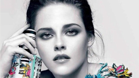 K-Stew Topless (Again) for Balenciaga   StyleCaster