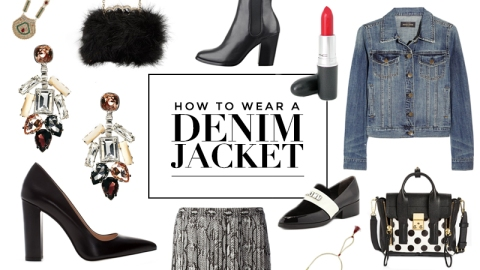 What to Wear With a Jean Jacket | StyleCaster