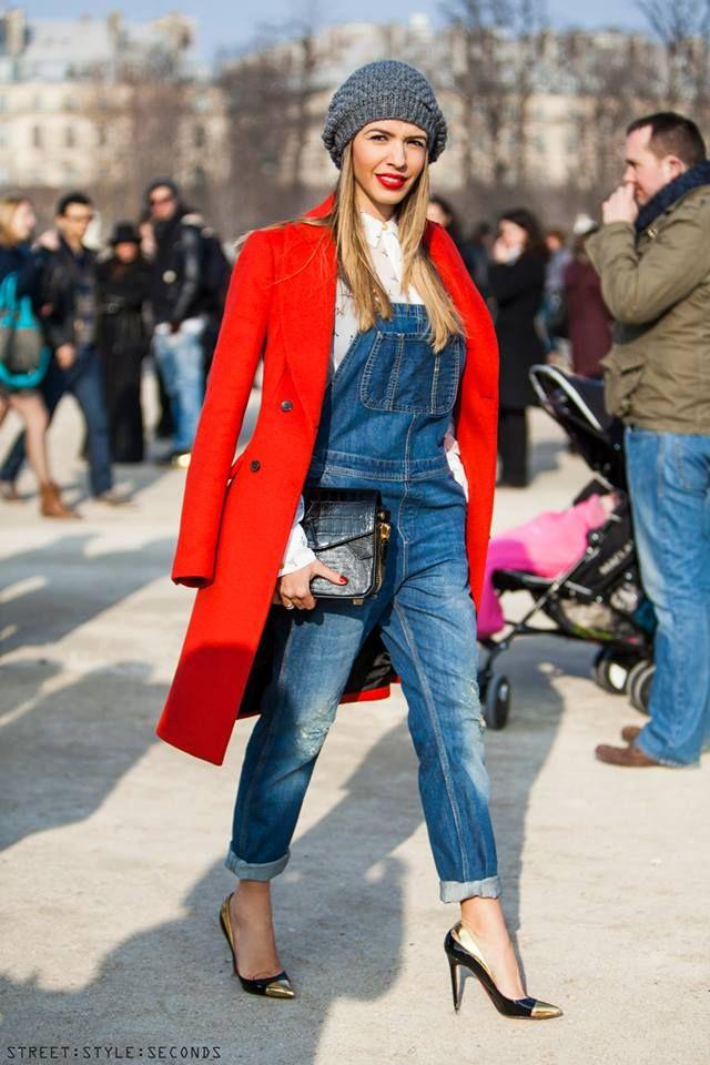 street style overalls pinterest