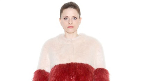 Get Noticed in This Colored Fur | StyleCaster