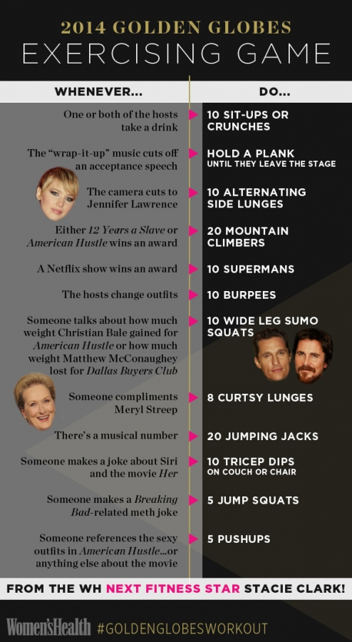 golden globes infographic The Healthiest Golden Globes Drinking Game Ever (Plus, an Awesome Infographic!)