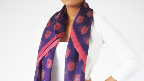 Found! A Scarf Covered in Pocket Watches   StyleCaster