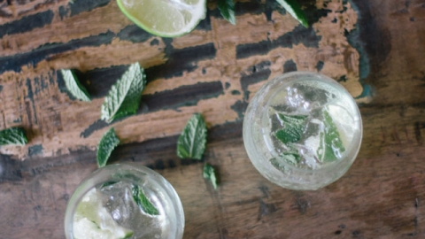 Weekend Cocktail: Silver Mojitos With High West Whiskey | StyleCaster