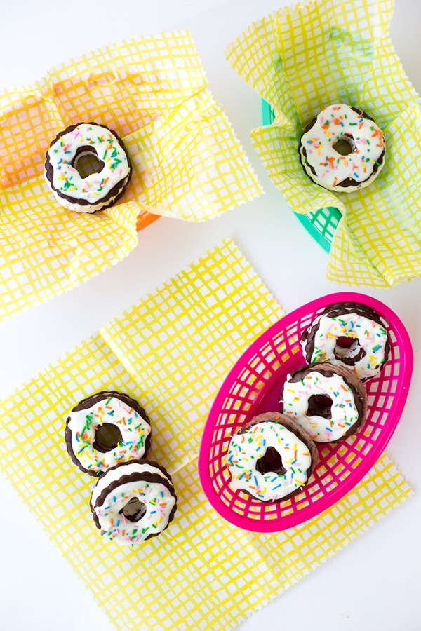things you can learn from pinterest ice cream sandwich donuts