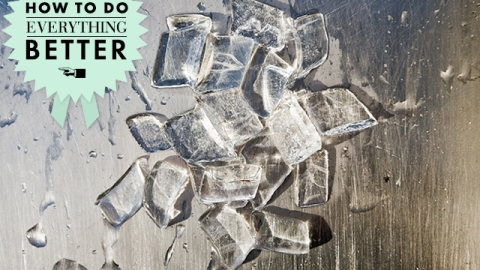 How To Do Everything Better: Make Perfect Ice Cubes | StyleCaster