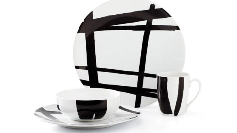 Stuff We Love: Go Bold At Home With These DKNY Dishes | StyleCaster