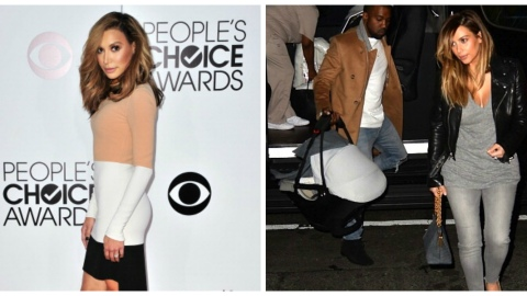 Naya Rivera & Kim K. Look Exactly Alike   StyleCaster