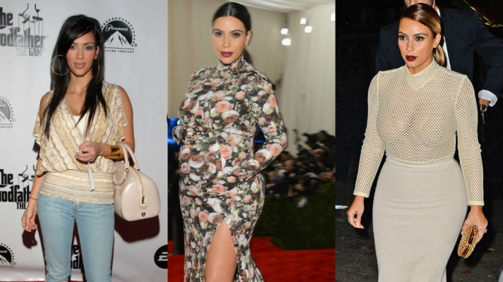 Kim Kardashian's Style—Before and After Kanye West