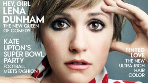 Lena Dunham's Vogue Pics, Sans Photoshop | StyleCaster