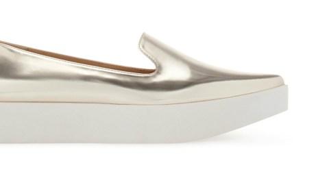 Found: Pointy Metallic Slip-Ons | StyleCaster